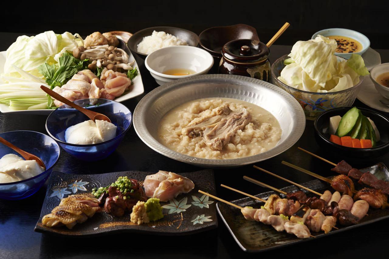 とりいちず 川崎仲見世通り店の鶏料理が満喫できるコース
